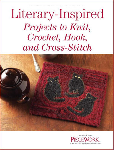 Literary-Inspired Projects to Knit, Crochet, Hook, and Cross-Stitch eBookImage