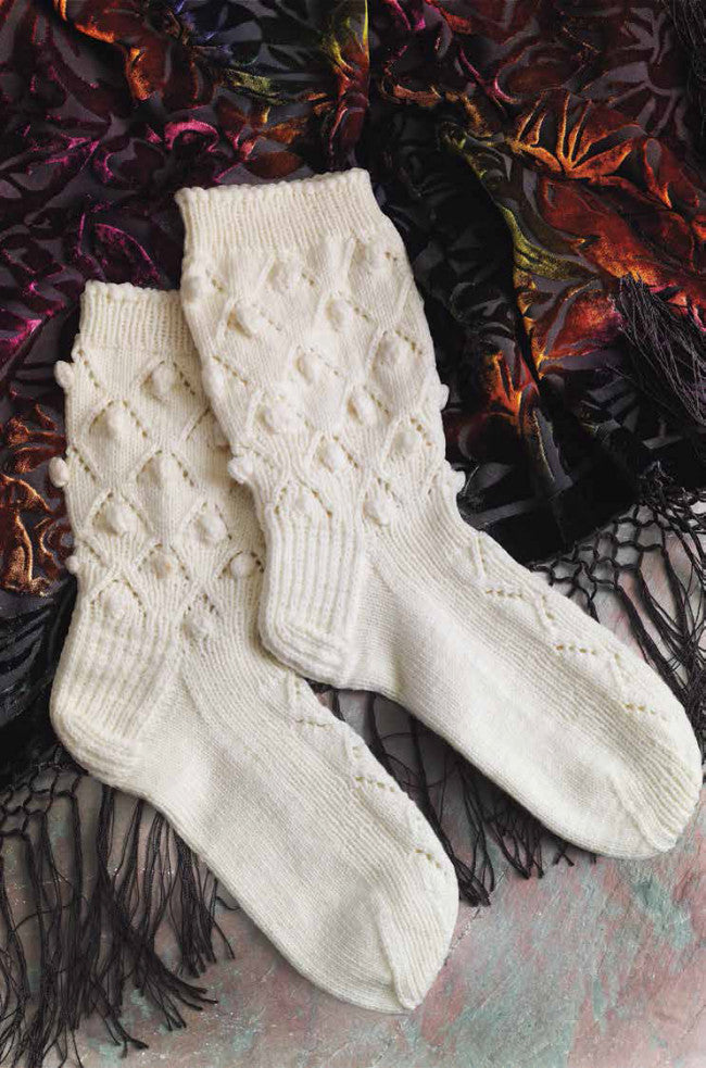 Lace Dancing Socks from SpainImage