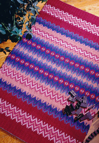 Rosepath Rug Weaving Pattern DownloadImage