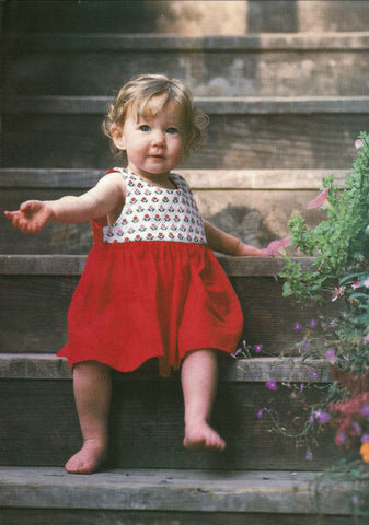Toddler Dresses Weaving Pattern DownloadImage