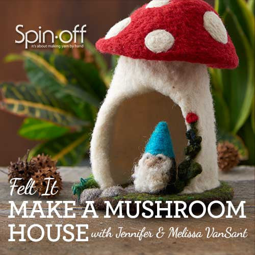 Felt It: Make a Mushroom House Video DownloadImage