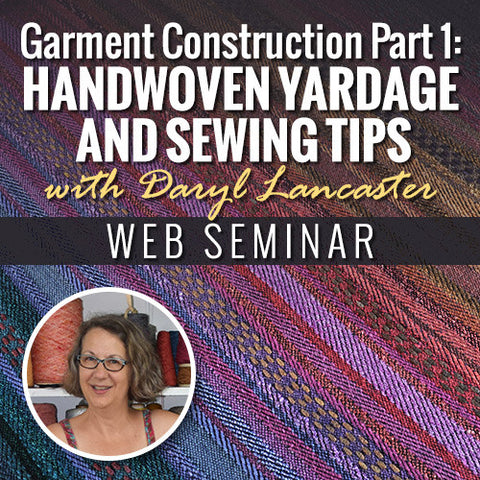 Garment Construction Part 1: Handwoven Yardage and Sewing TipsImage