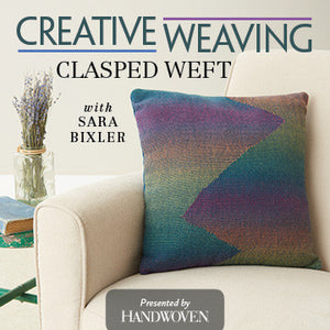 Creative Weaving: Clasped Weft Video DownloadImage