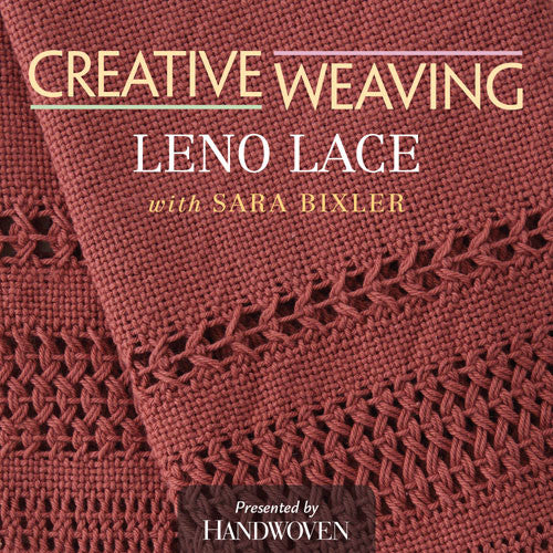 Creative Weaving: Leno Lace Video DownloadImage