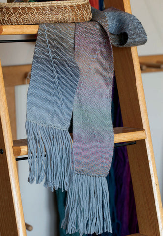 Zigzag Scarf Weaving Pattern DownloadImage
