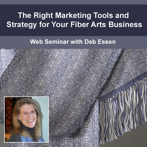 The Right Marketing Tools and Strategy for your Fiber Arts BusinessImage