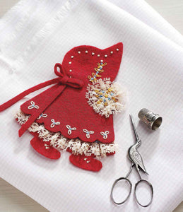 A Little Girl in Red: A Needle Case to StitchImage