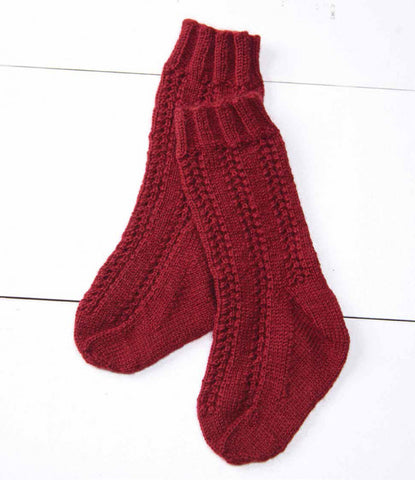 1847 Stockings for a Child Knitting Pattern DownloadImage