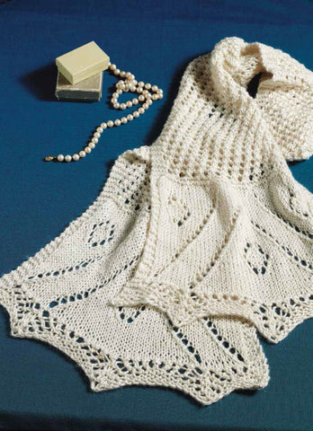 Cousin Martha's Scarf to Knit Knitting Pattern DownloadImage