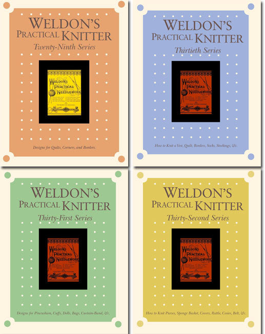 Weldon's Practical Knitter, Series 29-32 eBookImage
