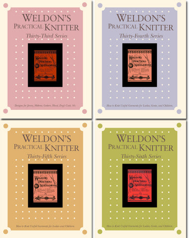 Weldon's Practical Knitter Series 33-36 eBookImage