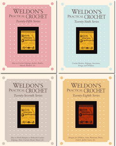Weldon's Practical Crochet 25th, 26th, 27th, and 28th Series Set eBookImage