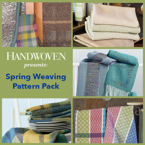 Handwoven Presents: Spring Weaving Pattern Pack DownloadImage