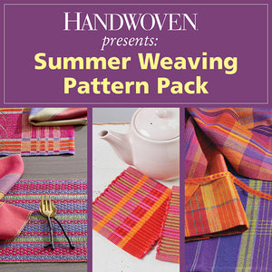 Handwoven Presents: Summer Weaving Pattern PackImage