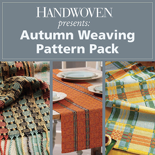 Handwoven Presents: Autumn Weaving Pattern PackImage