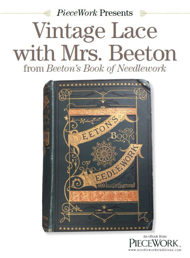 PieceWork Presents: Vintage Lace with Mrs. Beeton eBookImage