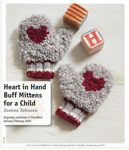Heart in Hand: Buff Mittens for a Child Pattern DownloadImage