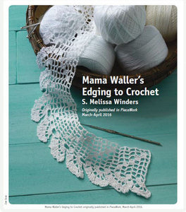 Mama Waller's Edging to Crochet Pattern DownloadImage