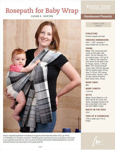 Rosepath for Baby Wrap Weaving Pattern DownloadImage