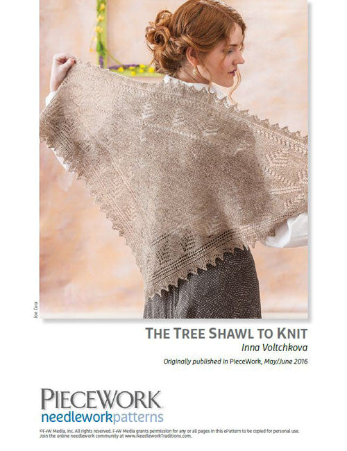 The Tree Shawl to Knit Knitting Pattern DownloadImage