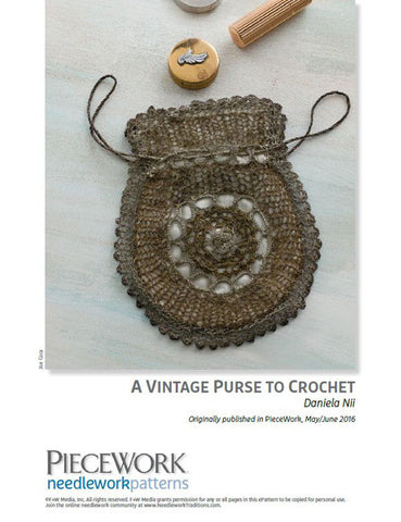 A Vintage Purse to Crochet Pattern DownloadImage