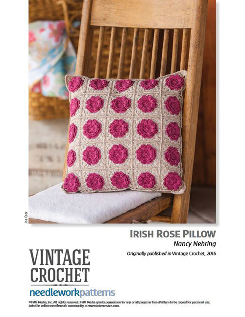 Irish Rose PillowImage