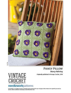 Pansy PillowImage