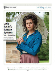 Lady Susan's Sunday SpencerImage