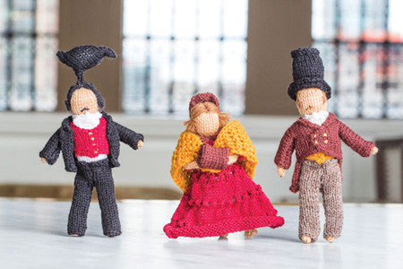 Strolling Dolls Knitting Pattern DownloadImage