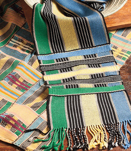 Kente Inspired Scarf Weaving Pattern DownloadImage