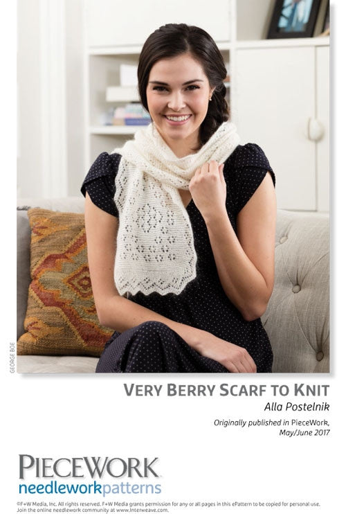 Very Berry Scarf to KnitImage