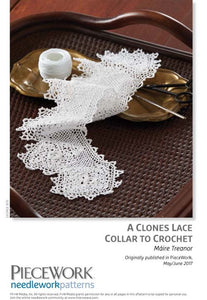 A Clones Lace Collar to Crochet Pattern DownloadImage