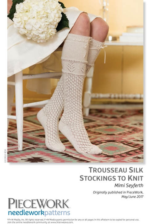 Trousseau Silk Stockings to KnitImage
