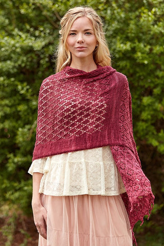 Kashmiri Shawl Knitting Pattern DownloadImage
