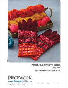 Muhu Gloves to Knit Pattern DownloadImage