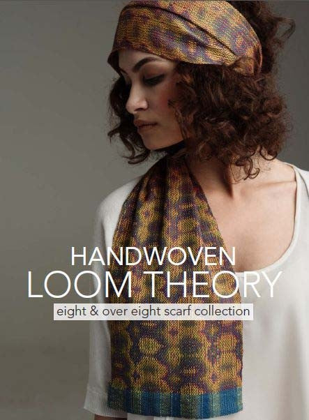 Handwoven Loom Theory: Eight and Over Eight Scarf CollectionImage