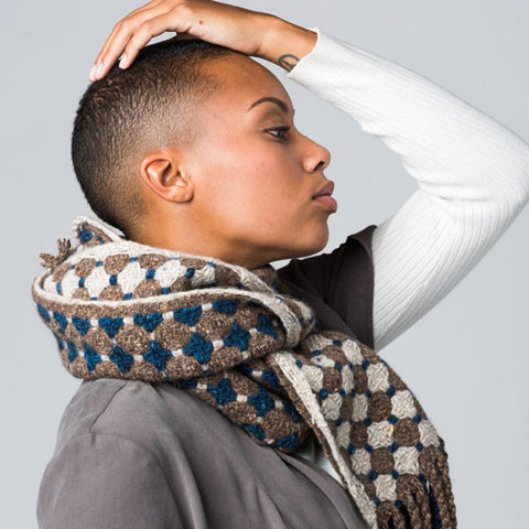 Taconic Tonic Scarf Weaving Pattern DownloadImage