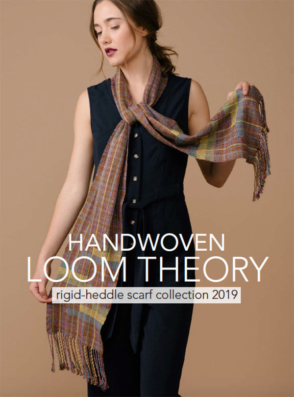 Handwoven Loom Theory: Rigid-Heddle Scarf Collection 2019Image
