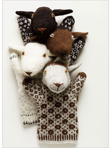 Estonian Sheep Puppets Knitting Pattern DownloadImage