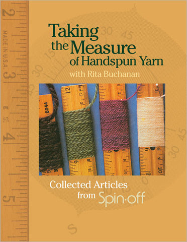 Taking the Measure of Handspun Yarn eBookImage