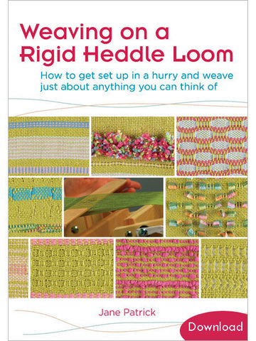 Weaving on a Rigid Heddle Loom Video DownloadImage