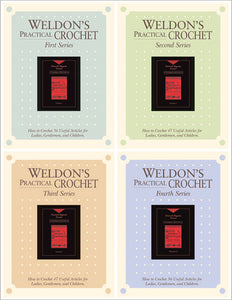 Weldon's Practical Crochet, Volume 1, Series 1-3 and Volume 2, Series 4 eBookImage