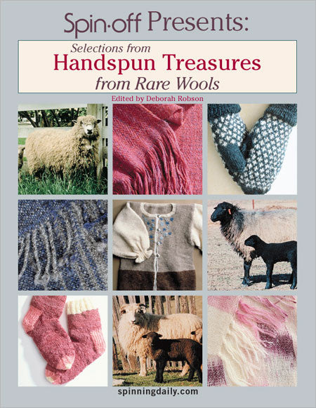 Selections from Handspun Treasures from Rare Wools eBookImage
