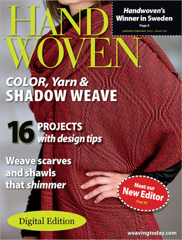 Handwoven, January/February 2012 Digital EditionImage
