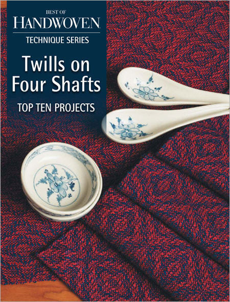 Best of Handwoven, Technique Series: Twills on Four Shafts eBookImage