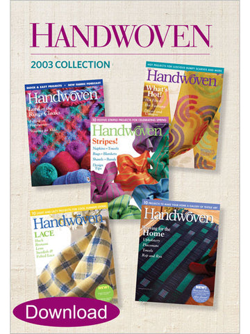 Handwoven 2003 Collection DownloadImage