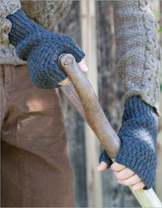 Fitz Fingerless Mitts Knitting Pattern DownloadImage