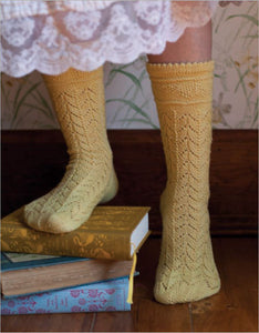 Lydia Bennet Secret Stockings Knitting Pattern DownloadImage