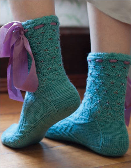 Frivolous Socks Knitting Pattern DownloadImage