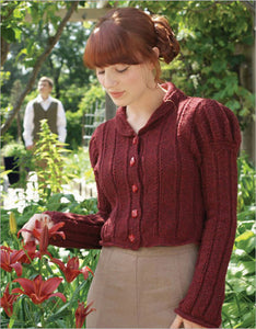 Lydia Military Spencer Knitting Pattern DownloadImage